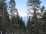 A Peak at Tahoe from Mt Rose