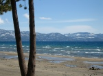 A beach N Lake Tahoe