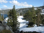 A peak at Emerald Bay
